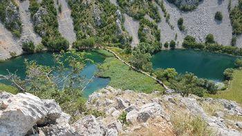 Kudin most- a Krupa folyó kanyonjában