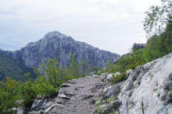 Paklenica Nemzeti Park /Manita Peć Barlang 550 méter