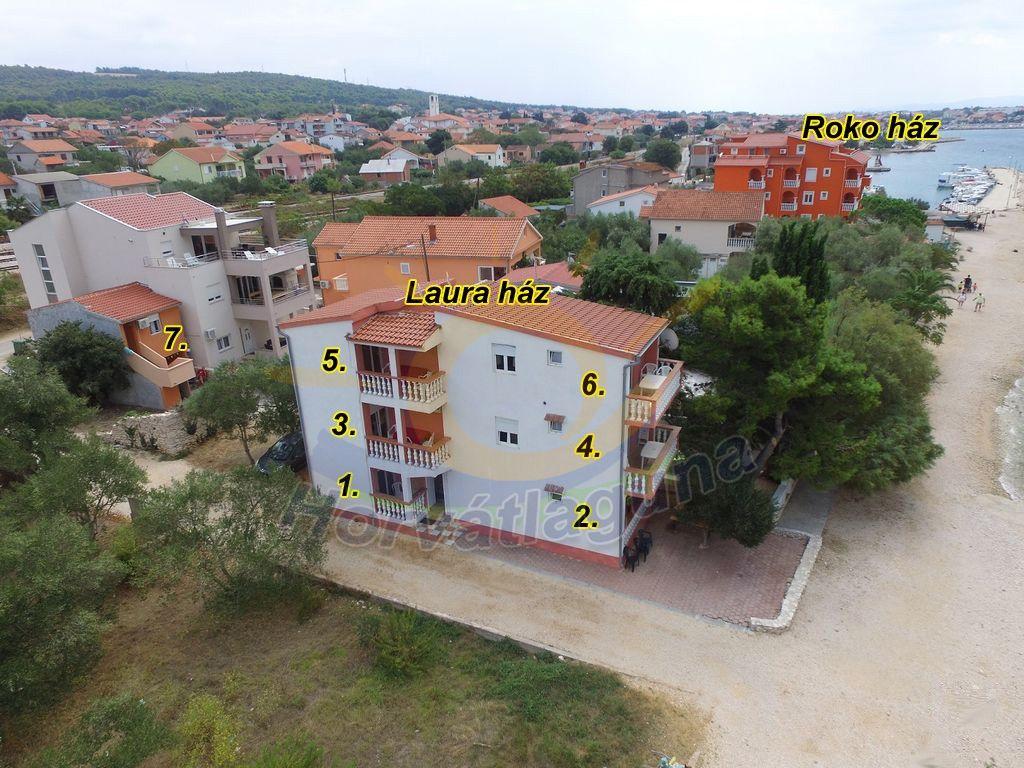 Laura ház 2+1 fős I.emeleti apartman